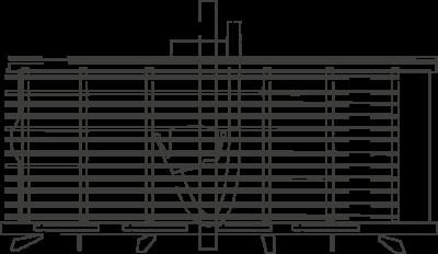 Függőleges lapszabászgép GMC
